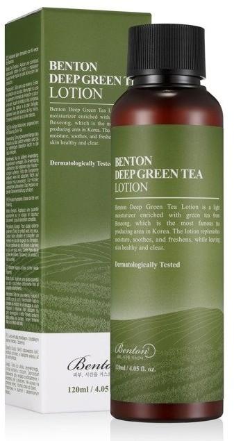 Benton Benton Deep Green Tea Lotion Lekka emulsja do twarzy 120ml 43838-uniw