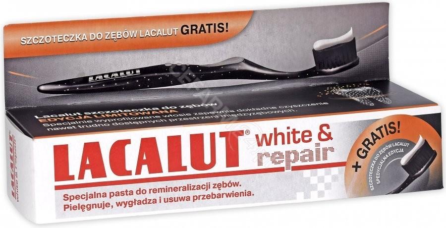 Natur Produkt Pasta do zębów lacalut white & repair 75 ml + szczoteczka do zębów Lacalut GRATIS!