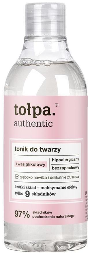 Tołpa Authentic - Tonik do twarzy z kwasem glikolowym - 200 ml TOLADZGML