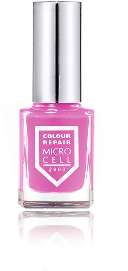 Microcell PINK STAR Colour & Repair Lakier do paznokci 11ml
