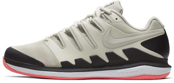 Nike Męskie buty do gry w tenisa na kortach ziemnych NikeCourt Air Zoom Vapor X - Kremowy AA8021-007
