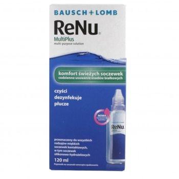 Bausch&Lomb Płyn Renu MultiPlus 120ml 1636