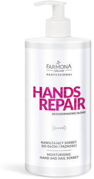 Farmona Hands Repair Nawilżający Sorbet Do Dłoni PRO1203