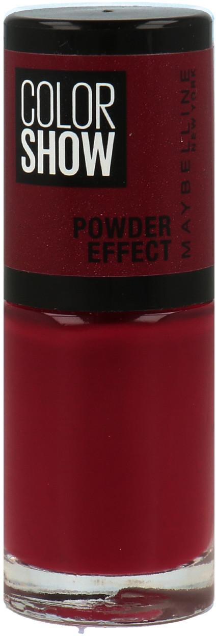 Maybelline Color Show Seria Powder Effect Lakier Do Paznokci 516 Cruel Ruby 30167704