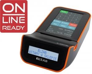 Elzab K10 ONLINE READY K10000005416 biało-pomarańczowa