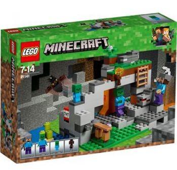 LEGO Minecraft Jaskinia zombie 21141