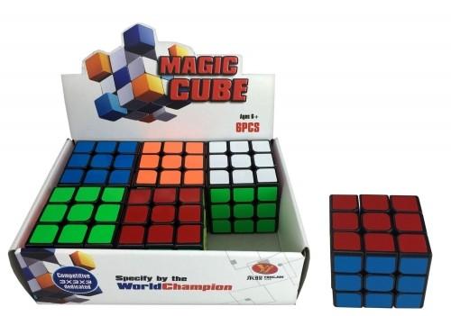 Mega Creative Kostka Magic 6x6 Yj0703a Fol Disp 6/180/360