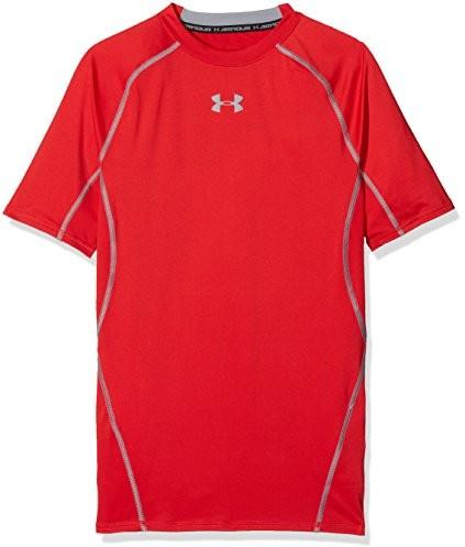 Under Armour koszulka męska Heatgear do fitnessu, czerwony, 2 XL 1257468