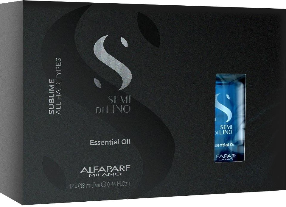 Alfaparf SEMI DI LINO SUBLIME Shine Lotion Ampułki do włosów 12x13ml 0000061870
