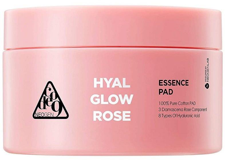 Neogen Neogen Code9 HyalGlow Rose Essence Pad 135ml organiczne, nawilżające płatki