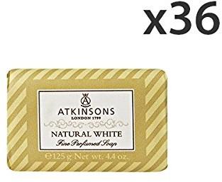 Atkinsons Zestaw 36atkinsons saponetta Natural White 125gr. mydła i kosmetyków SAPONATKINNAT-KIT