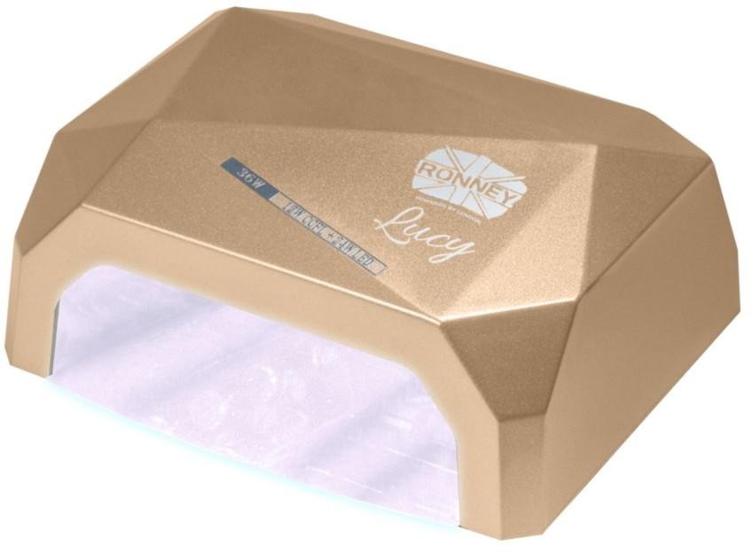 Ronney Lucy 36W lampa LED/ UV złota