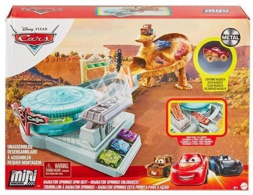 Mattel Cars Mikroauta Chłodnica górska rajdowe wyzwanie -