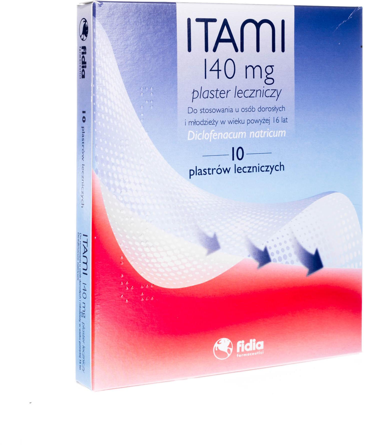 FIDIA ITAMI PLASTER LECZNICZY 10 szt.