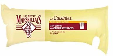 Le Petit Marseillais Savon liquide du cuisinier  l'Huile Essentielle de CitronLe Petit Mars illaispłynne mydło z olejkiem cytrynowymzwalcza nieprzyjemne zapachy w kuchni
