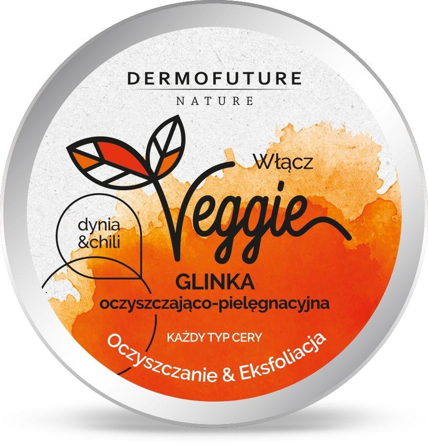 Dermofuture DermoFuture Veggie Glinka Oczyszczająca Dynia i Chili 150ml DERF-6070