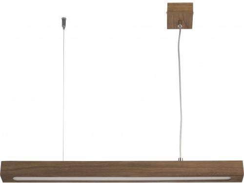 Sigma FUTURA WOOD LOW LUX 32959 pojedyncza lampa wisząca długa listwa zwis nad stół do salonu 32959