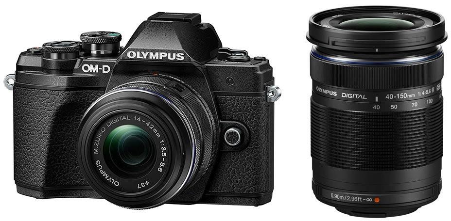 Opinie o Olympus OM-D E-M10 Mark III czarny + 14-42 mm II R + 40-150 mm R