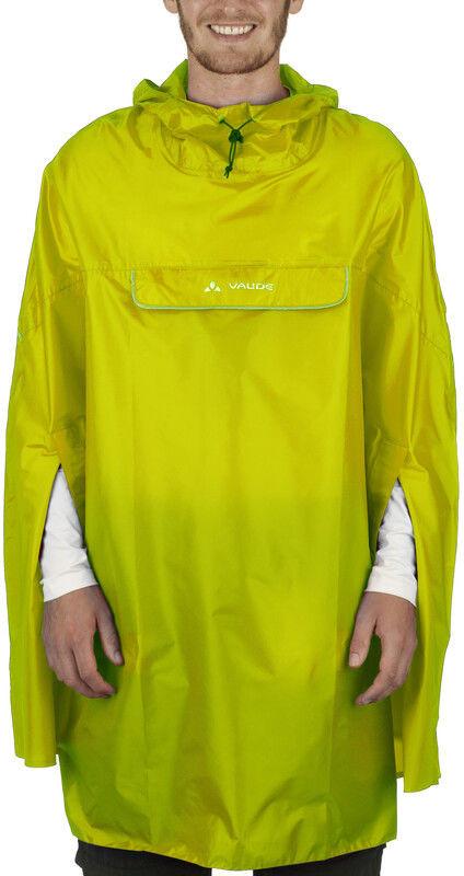 Vaude VAUDE Valdipino Ponczo, lemon XL 2020 Peleryny przeciwdeszczowe 022854390500
