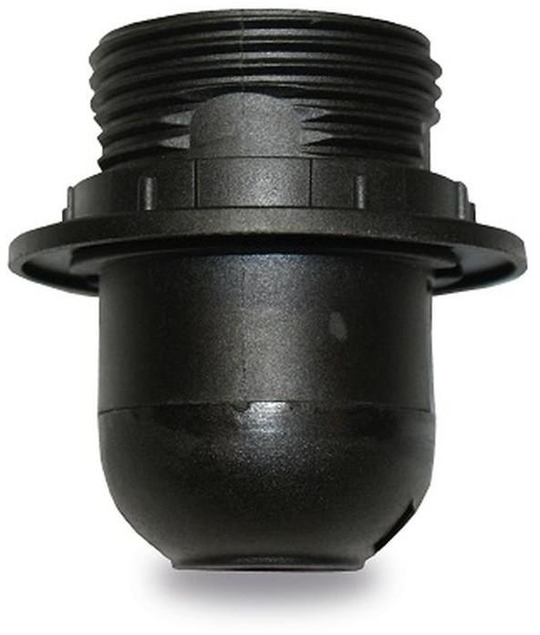 INQ Oprawka z kołnierzem INQ OP060, E27, czarna