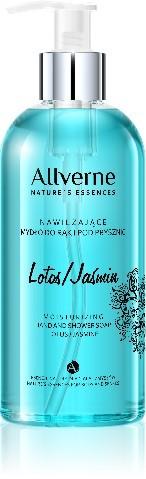 Allverne Natures Essences Mydło do rąk i pod prysznic Lotos-Jaśmin 300ml