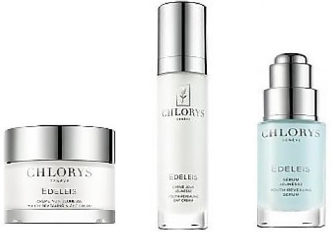Chlorys CHLORYS Edeleis Nature As A Source Of Beuty 50ml + serum do twarzy 10ml + krem do twarzy na noc 10ml 70950-uniw