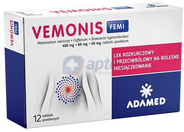 Adamed Vemonis Femi x12 tabletek