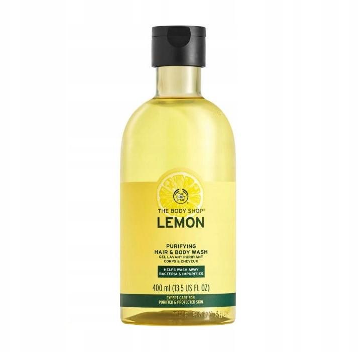 The Body Shop Lemon Żel Do Ciała I Włosów 400ML