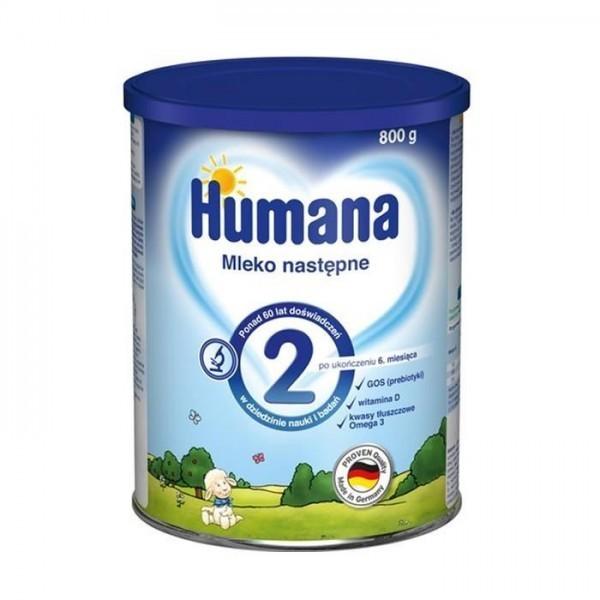 Humana 2 MLEKO NASTĘPNE 800G