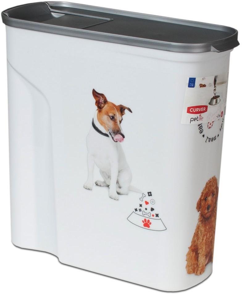 Curver pojemnik na suchy pokarm dla psa do 4 kg suchej karmy| Dostawa GRATIS od 89 zł + BONUS do pierwszego zamówienia