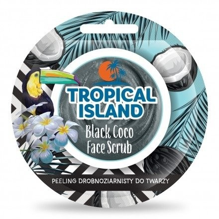 Marion Tropical Island Face Scrub Black Coco 8g