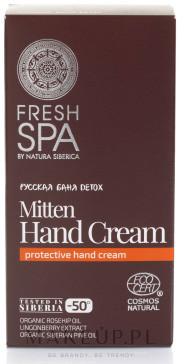 Natura Siberica Krem do rąk - Fresh Spa Russkaja Bania Detox Mitten Hand Cream Krem do rąk - Fresh Spa Russkaja Bania Detox Mitten Hand Cream