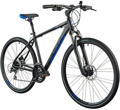 Indiana Rower crossowy X-Cross 3.0 M19 męski Czarno-niebieski Raty 21ME300