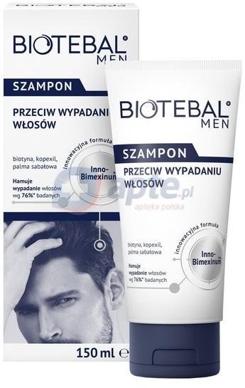 Polpharma BIOTEBAL MEN szampon przeciw wypadaniu włosów 150ml