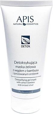Apis Professional Detoksykująca maska żelowa z węglem z bambusa i jonizowanym srebrem - Detox Mask Detoksykująca maska żelowa z węglem z bambusa i jonizowanym srebrem - Detox Mask