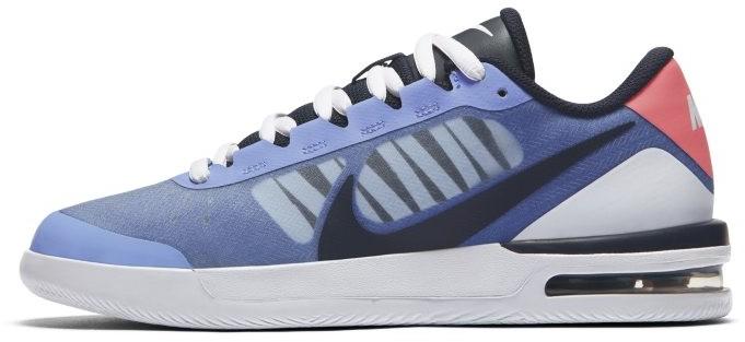 Nike Damskie buty do tenisa NikeCourt Air Max Vapor Wing MS - Niebieski CI9838-406