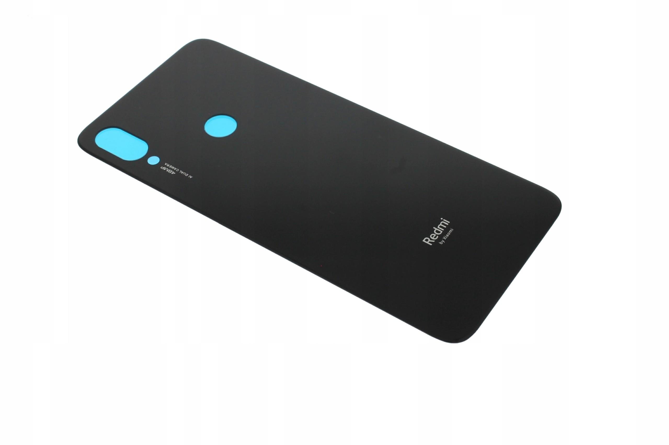 Obudowa Tył Klapka Xiaomi Redmi Note 7 Czarny