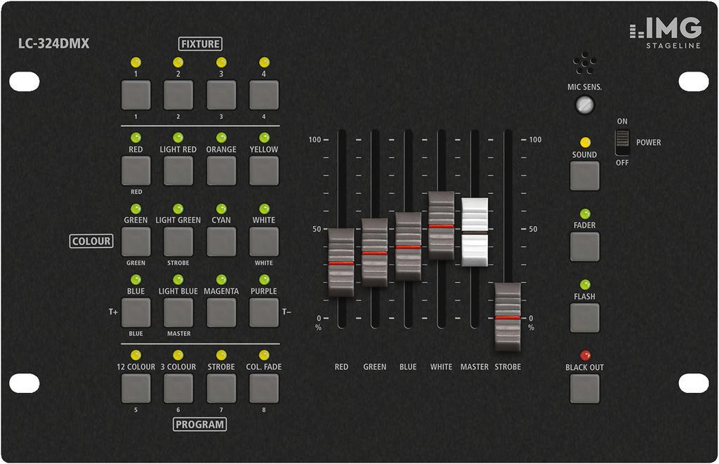 IMG IMG STAGELINE LC-324DMX Kontroler diodowy DMX 28808