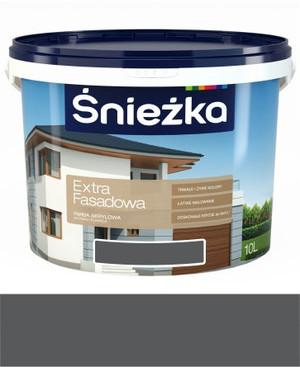 Śnieżka Emulsja Extra Fasadowa grafitowa 307A 5l 994100