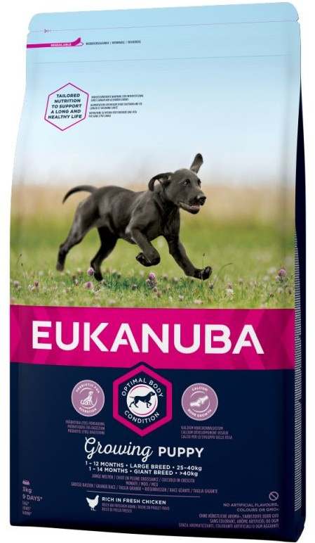 Eukanuba Growing Puppy Large 18 kg