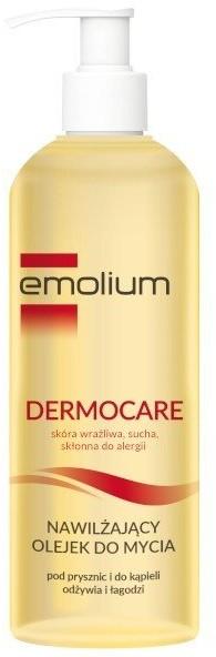 Emolium Dermocare, nawilżający olejek do mycia, 400 ml 400 ml | SZYBKA WYSYŁKA!