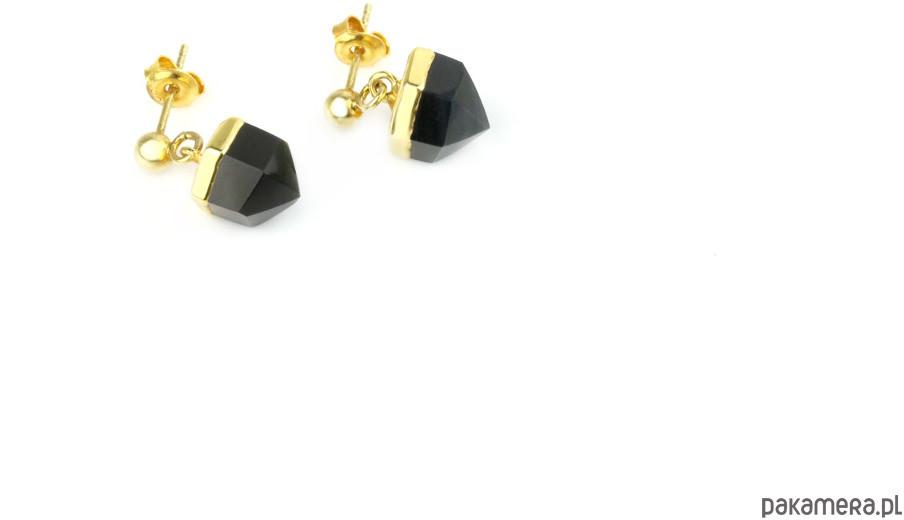 Earrings Agat Mini złoto