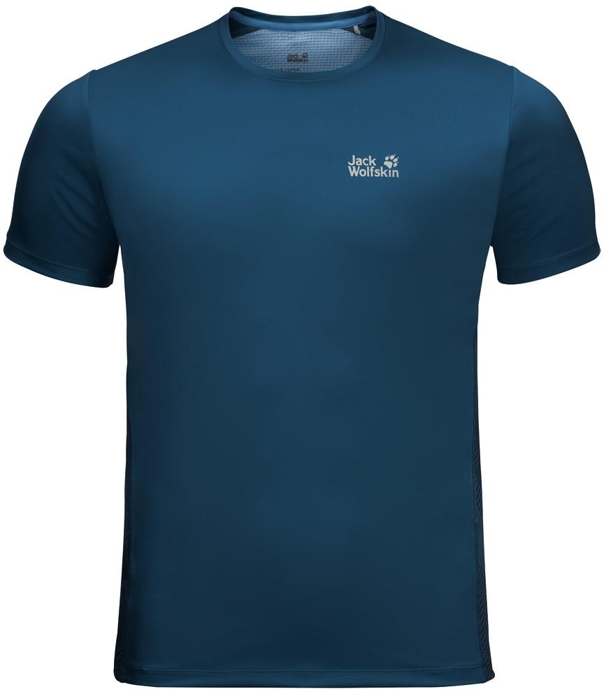 Jack Wolfskin Koszulka WILDERNESS T M poseidon blue
