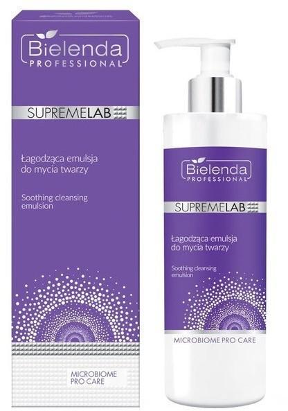 Bielenda Professional SUPREMELAB Professional SupremeLab Microbiome Pro Care Łagodząca emulsja do mycia twarzy 175g 57941-uniw