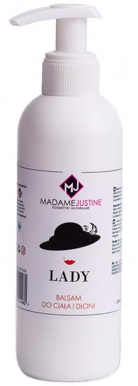 Madame Justine Madame Justine Lady balsam do ciała i dłoni Zielona Herbata 200ml