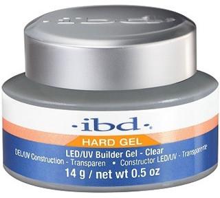 IBD Hard Gel LED/UV Builder Gel-Clear Żel Budujący Transparentny 14g