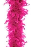 PartyDeco Boa, neonowy róż, 180 cm