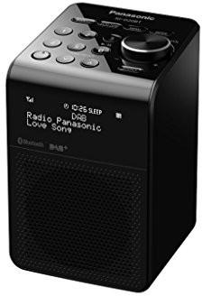 Panasonic RF-d20bteg-K cyfrowego radia DAB + czarny RF-D20BTEG-K
