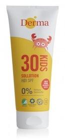 Derma Sun Derma Sun, Kids, krem słoneczny dla dzieci SPF 30 hipoalergiczny, 200 ml