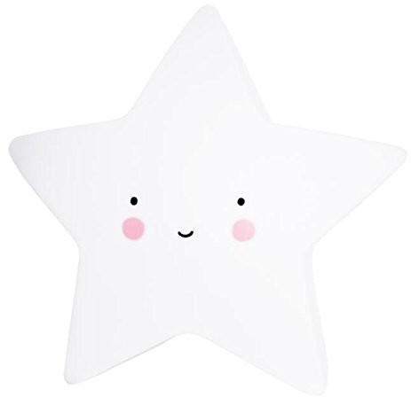 A Little Lovely Company nocna lampka nocnagwiazda Mini Star Lightświatłobiały LL-LTSW053